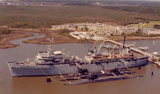 Naval Weapons Station Charleston >> Tender Tale - Sub Bases: Charleston Naval Weapons Station